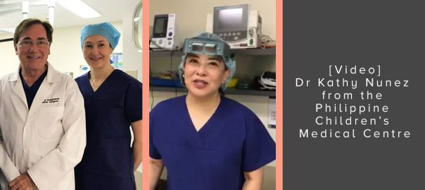 Dr Kathy Nunez from the Philippine Children's Medical Centre