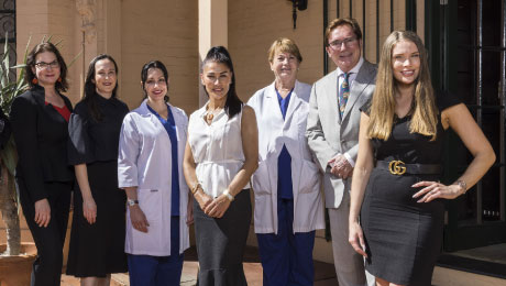 medical team at cosmetic & restorative surgery clinic in Double Bay, Sydney