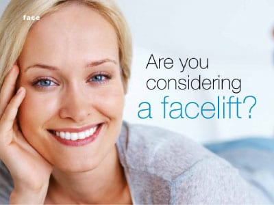 are you considering a facelift